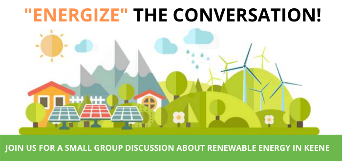 Renewable energy conversation banner