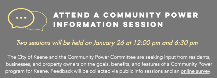 Keene community power Jan 2021