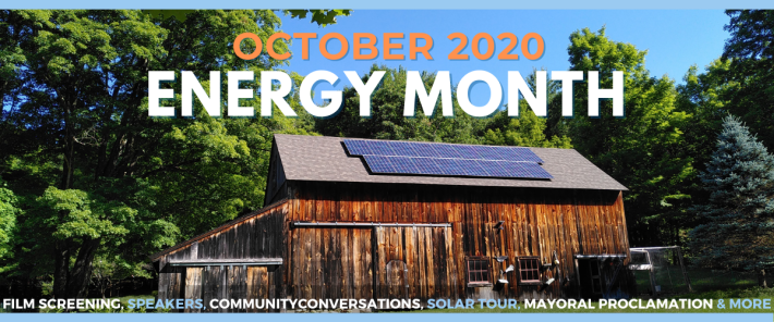 October energy month 2020 web banner